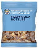 manchester city fizzy cola bottles